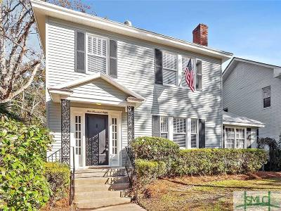 Savannah Single Family Home For Sale: 508 E 48th Street