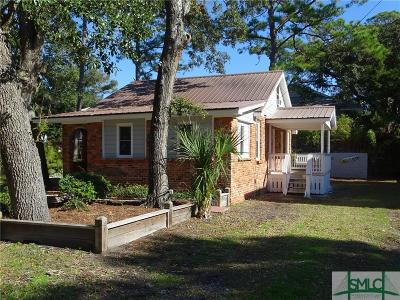 Tybee Island GA Single Family Home For Sale: $410,000