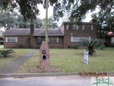 Savannah Single Family Home For Sale: 2715 Livingston Avenue