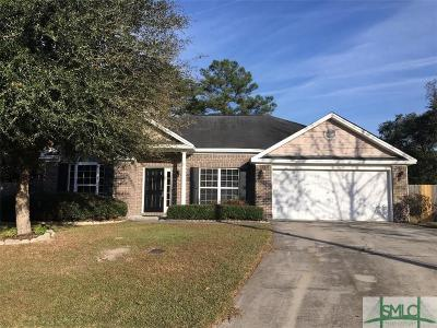 Savannah GA Single Family Home Active Contingent: $159,000