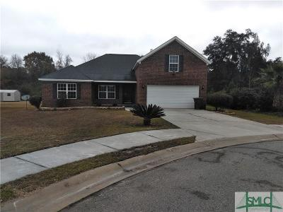 Hinesville Single Family Home For Sale: 1006 White Oak Circle