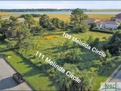 Savannah Residential Lots & Land For Sale: 109 Melinda Circle