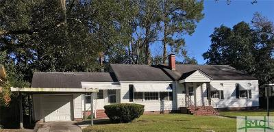 Savannah GA Single Family Home For Sale: $149,900