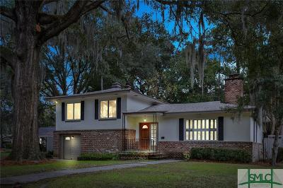 Savannah Single Family Home For Sale: 110 Harlan Drive
