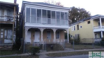 Savannah Multi Family Home For Sale: 516 W 39th Street #2