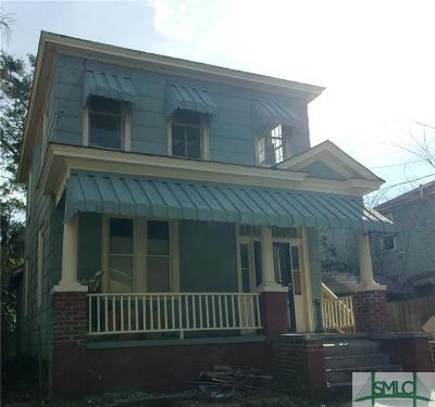 Savannah Single Family Home For Sale: 2120 Harden Street