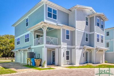 Tybee Island GA Condo/Townhouse For Sale: $450,000