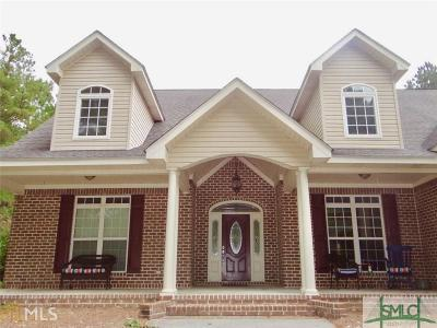 Statesboro Single Family Home For Sale: 1802 Laurel Oak Drive
