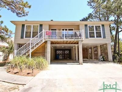 Tybee Island GA Single Family Home For Sale: $519,000