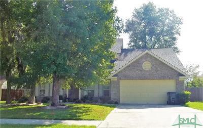 Savannah GA Single Family Home For Sale: $250,000