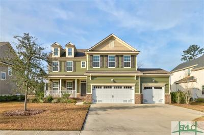 Pooler Single Family Home For Sale: 605 Wyndham Way