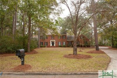 Savannah Single Family Home For Sale: 3 Causton Place