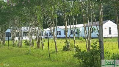 Pembroke GA Mobile Home For Sale: $125,000