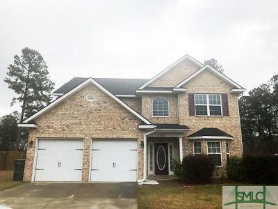 Ludowici Single Family Home For Sale: 292 NE Briarcrest Drive