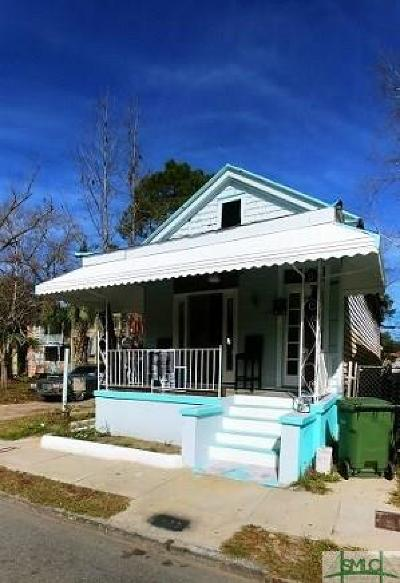 Savannah Single Family Home For Sale: 638 W 42nd Street