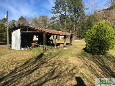 Guyton Single Family Home For Sale: 2080 17 N Highway