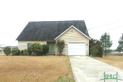 Ellabell Single Family Home For Sale: 160 Bonnie Circle