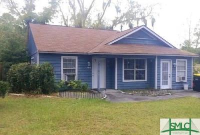 Savannah Single Family Home For Sale: 104 Forest Ridge Drive