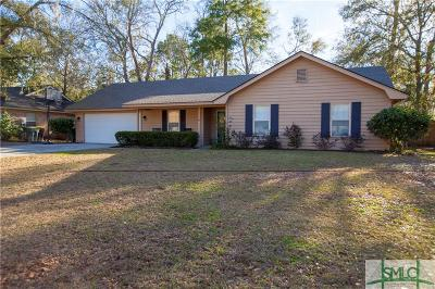 Savannah Single Family Home For Sale: 41 S Nicholson Circle