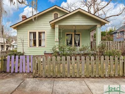 Savannah Single Family Home For Sale: 902 E 39th Street