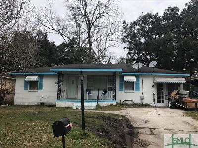 Savannah Single Family Home For Sale: 1932 Cimarron Street