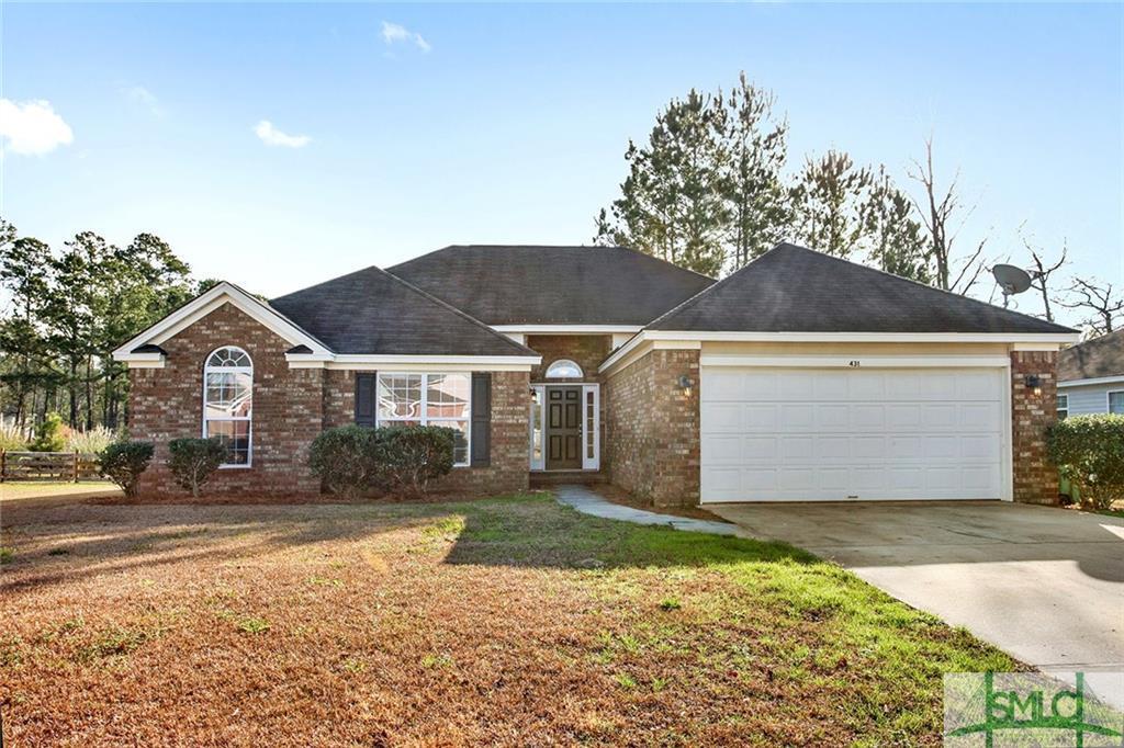 431 Plantation, Rincon, GA, 31326, Rincon Home For Sale