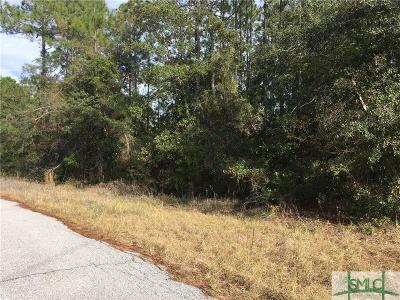 Midway GA Residential Lots & Land For Sale: $30,000