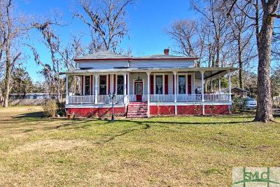 Guyton Single Family Home For Sale: 471 Central Avenue