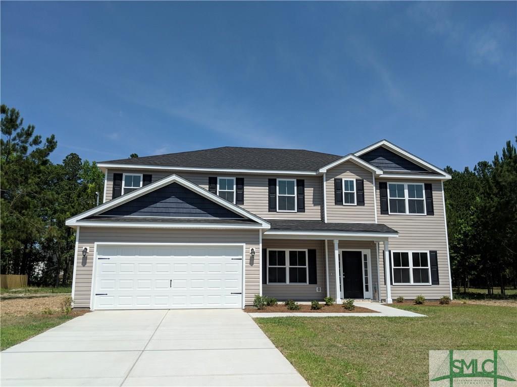 12 Saddlebrush, Ellabell, GA, 31308, Ellabell Home For Sale