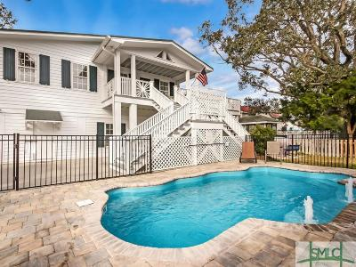 Tybee Island Single Family Home For Sale: 1406 Solomon Avenue