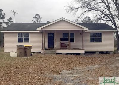 Guyton Single Family Home For Sale: 2285 Little McCall Road