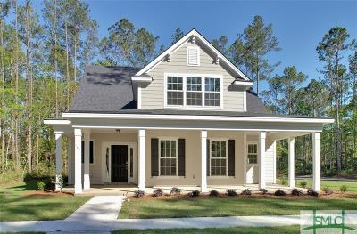 Richmond Hill Single Family Home For Sale: 144 Telfair Drive