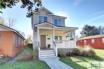 Savannah GA Single Family Home For Sale: $228,000