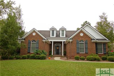 Pooler Single Family Home For Sale: 3 Jersey Loop