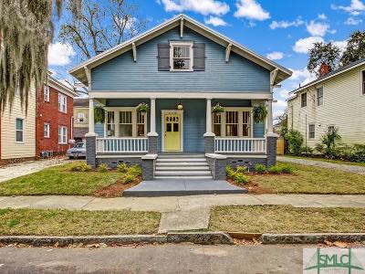 Savannah Single Family Home For Sale: 628 E 40th Street