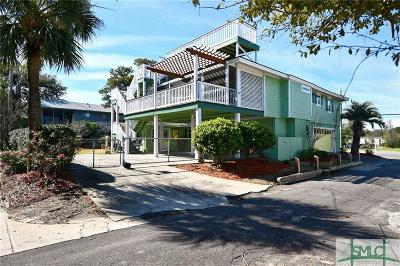 Tybee Island Single Family Home For Sale: 506 Butler Avenue