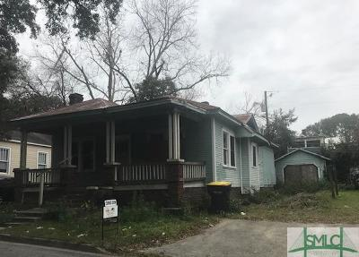Savannah Single Family Home Active Contingent: 1319 SE 36th Street