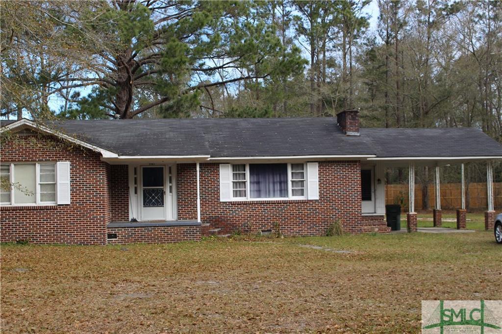 2283 Ga Highway 204, Ellabell, GA, 31308, Ellabell Home For Sale