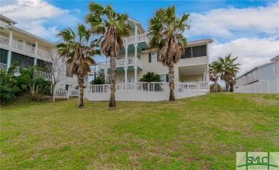 Tybee Island Single Family Home For Sale: 2 Railwood Avenue