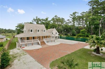 Wilmington Island Single Family Home For Sale: 709 Betz Creek Road
