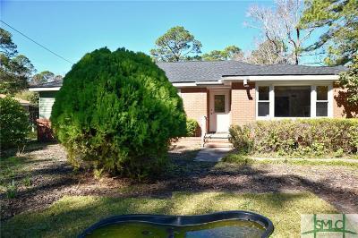 Savannah GA Single Family Home For Sale: $268,000