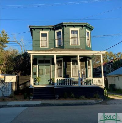 Savannah Multi Family Home For Sale: 1704 Jefferson Street