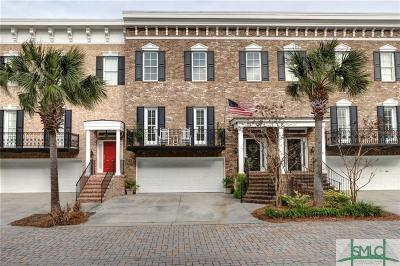 Wilmington Island Condo/Townhouse For Sale: 19 Wyndham Court