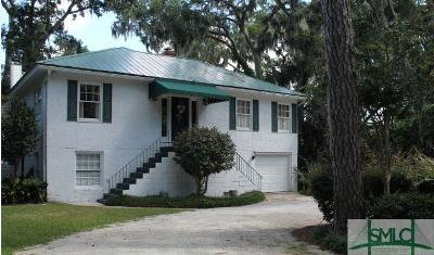 Savannah Single Family Home For Sale: 532 Dancy Avenue