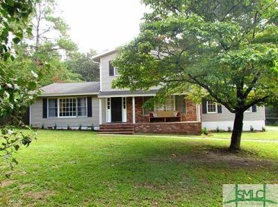 Statesboro Single Family Home For Sale: 404 Brannen Drive
