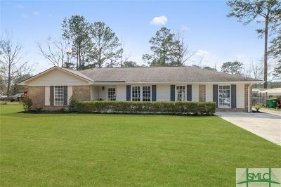 Pooler Single Family Home For Sale: 409 Holly Avenue