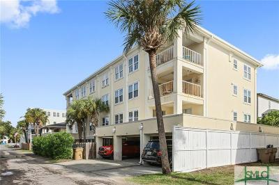 Tybee Island Condo/Townhouse For Sale: 10 T S Chu Terrace #101