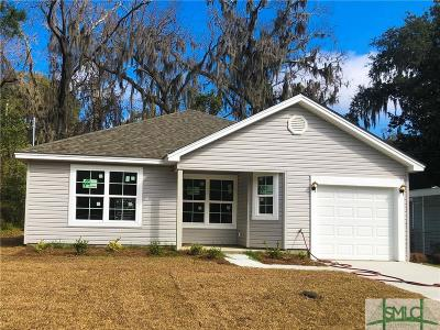 Savannah Single Family Home For Sale: 1412 Hendry Avenue