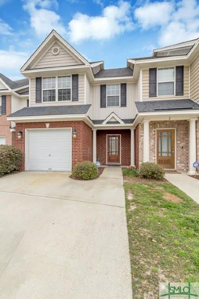 Savannah GA Condo/Townhouse For Sale: $167,900
