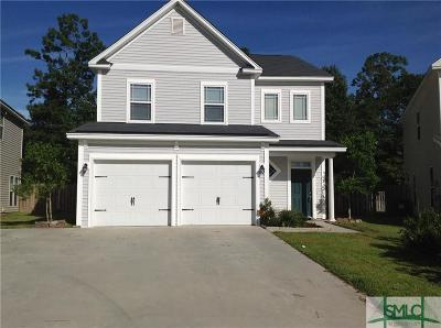 Savannah Single Family Home For Sale: 128 Chapel Lake South Circle